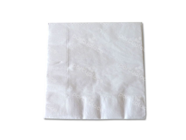 White Luncheon Napkin