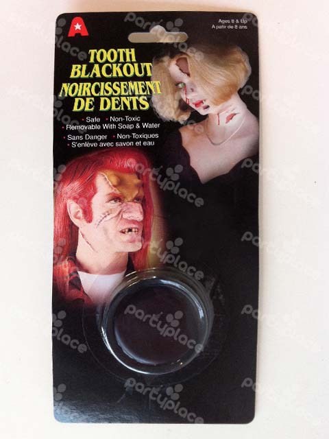 Tooth Black Out Makeup