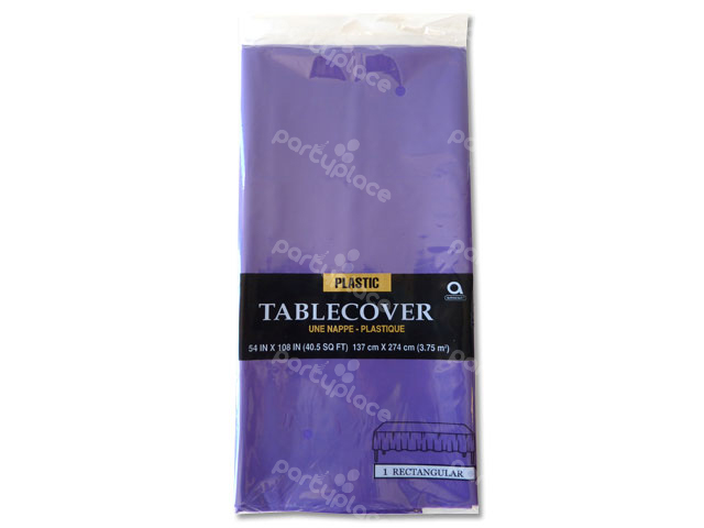 Purple Table Cloth - Rectangular