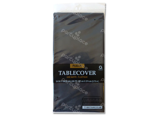 Black Table Cloth - Rectangular