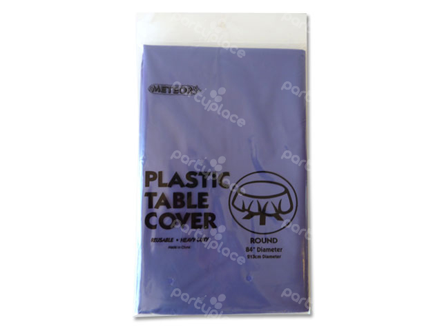 Purple Table Cloth - Round