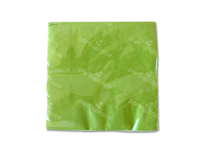 Lime Green Luncheon Napkin