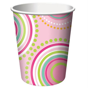 Mod Butterfly Party Paper Cups