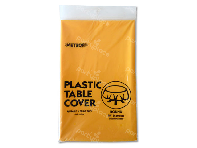 Yellow Table Cloth - Round