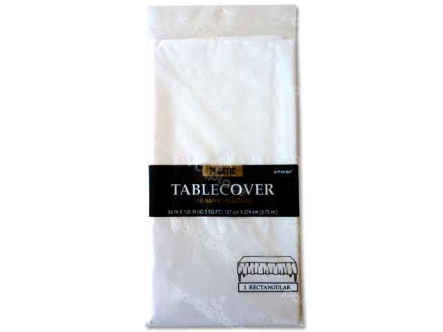 White Table Cloth - Rectangular
