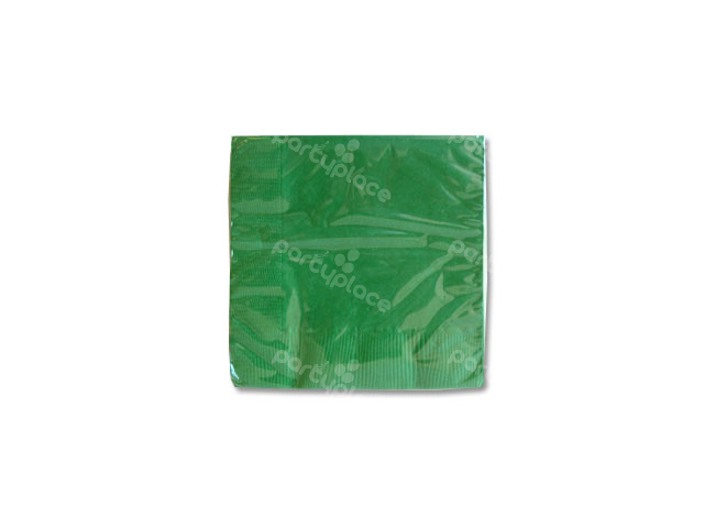 Emerald Green Beverage Napkin