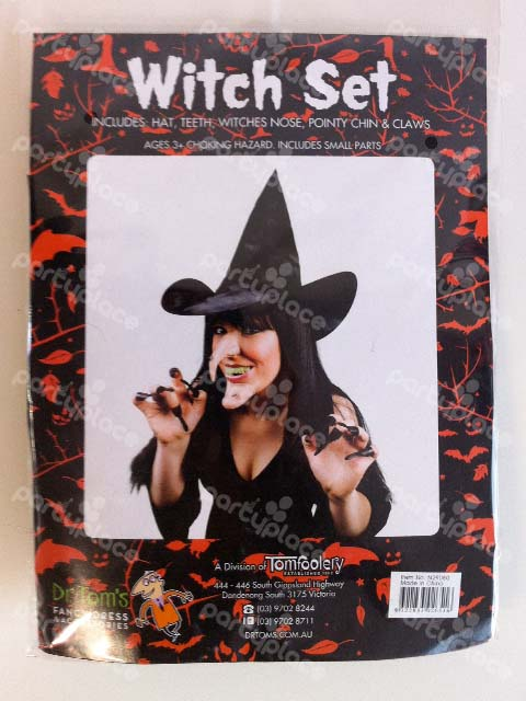 Witches Set Costume