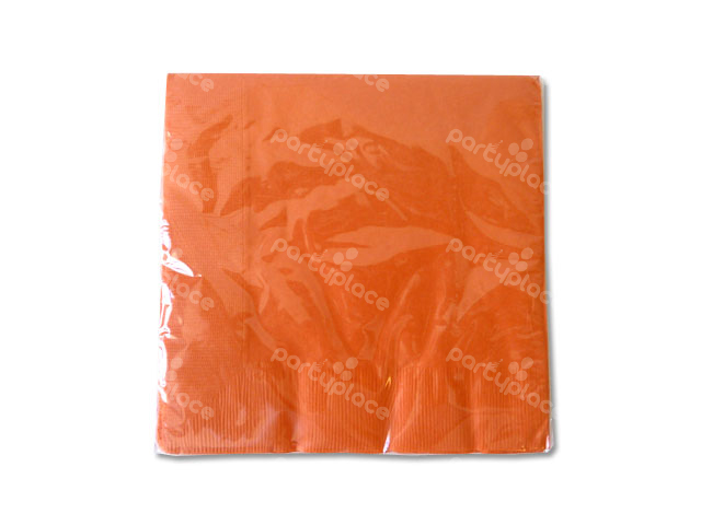 Orange Luncheon Napkin