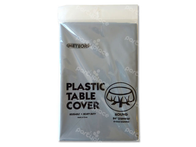 Silver Table Cloth - Round