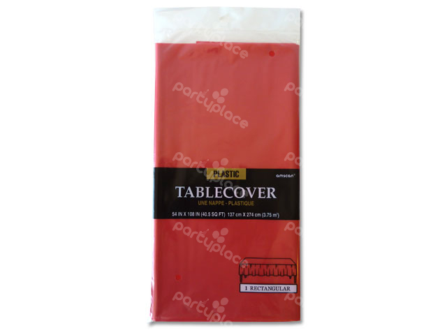 Red Table Cloth - Rectangular