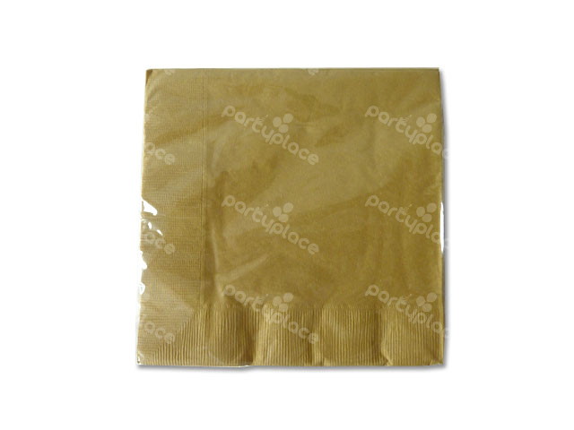 Gold Luncheon Napkin