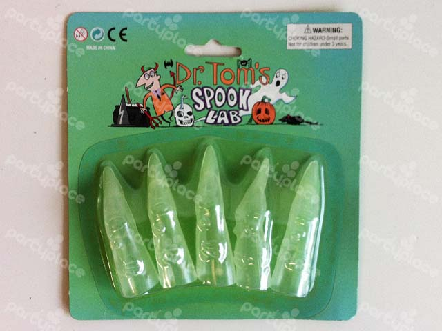 Clear Witch FingersCostume accessory