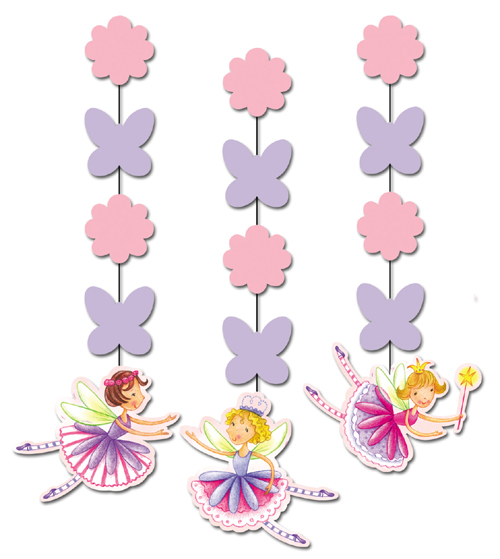 Garden Fairy Party Hanging Decorations